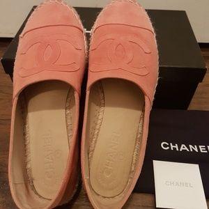 Authentic Chanel espadrilles 38